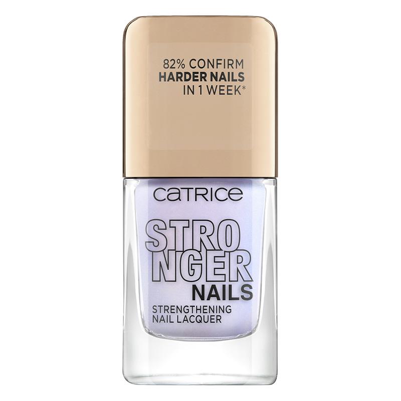 Лак для ногтей Catrice Stronger Nails Strengthening Nail Lacquer тон 03 Fierce Lavender