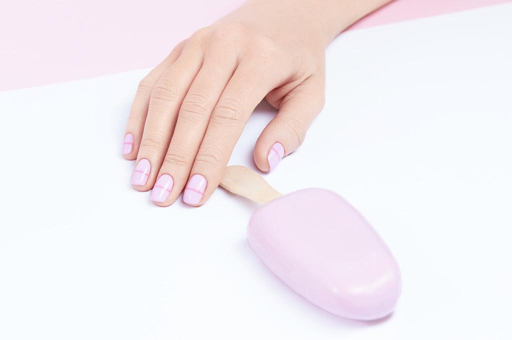 Летом самыми актуальными остаются короткие и очень короткие ногти