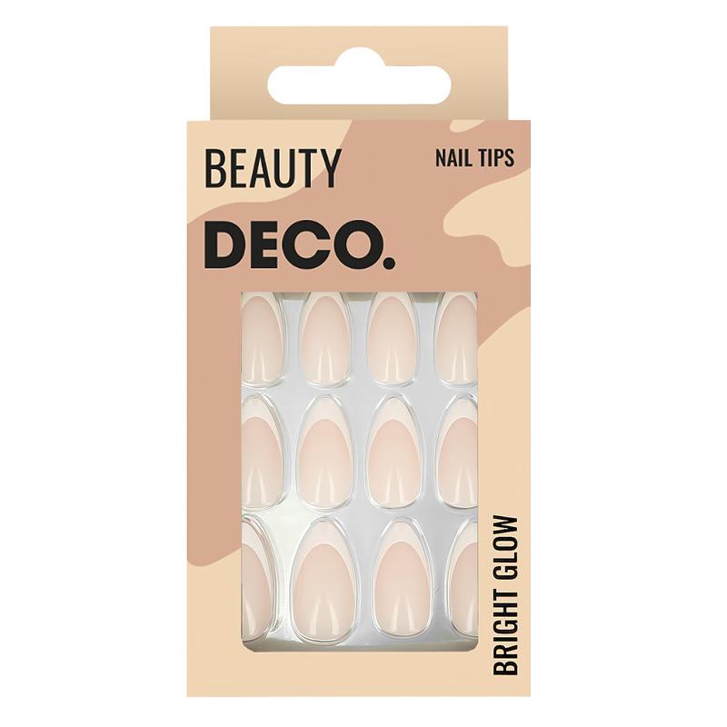Набор накладных ногтей DECO. Ombre French (24 шт + клеевые стикеры 24 шт)