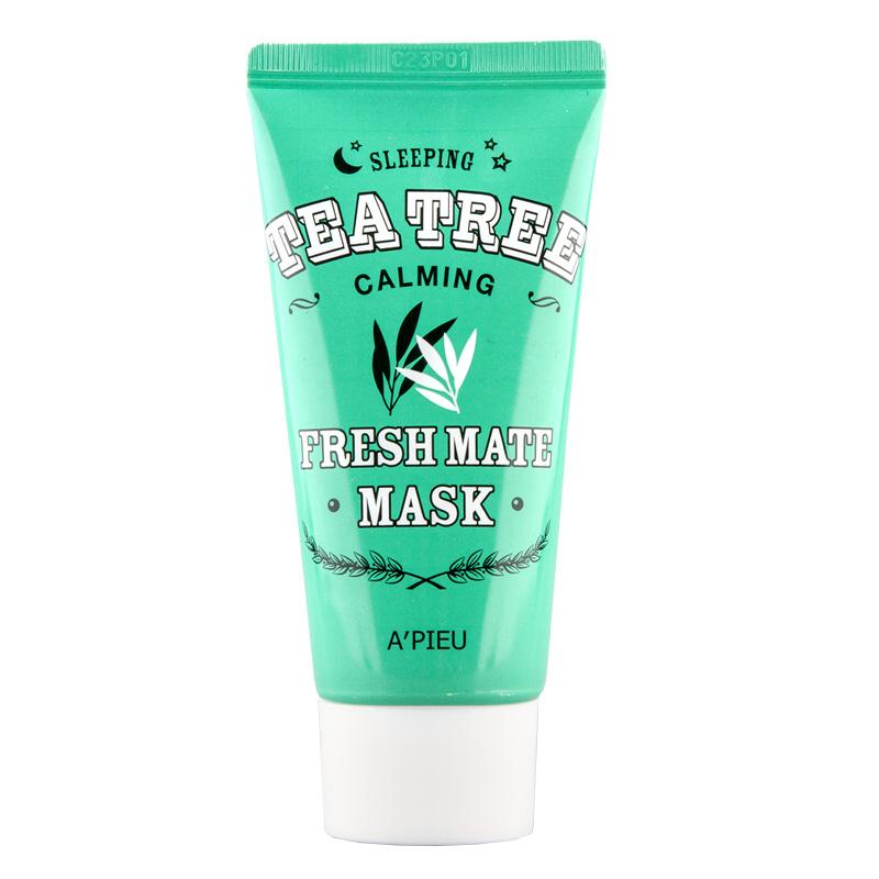 Ночная маска для лица A`Pieu Fresh Mate Mask успокаивающая с маслом чайного дерева