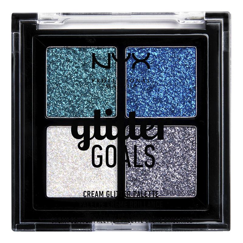 Палетка глиттеров NYX Professional Makeup Glitter Goals тон 01