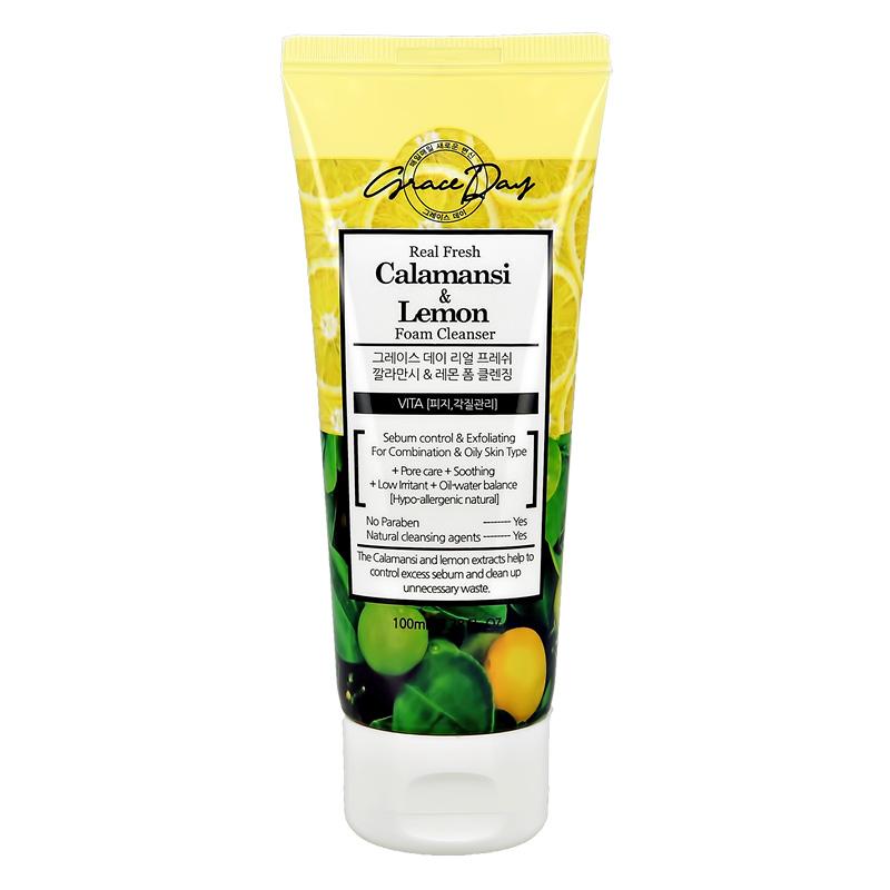 Пенка для умывания Grace Day с экстрактом лайма и лимона