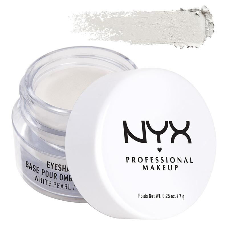 Праймер для век NYX Professional Makeup Eyeshadow Base тон 02 White Pearl