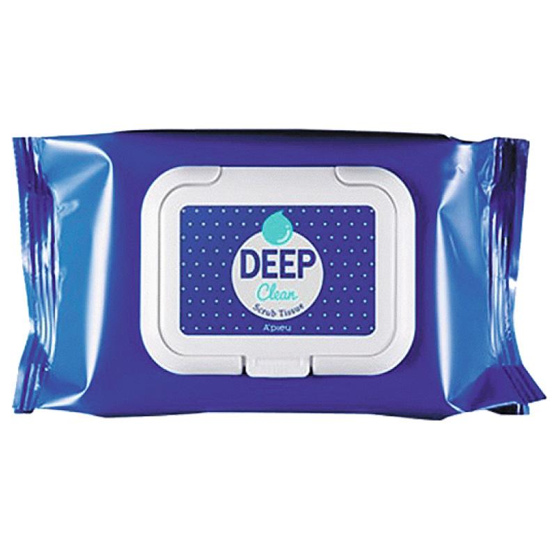 Салфетки для лица A`Pieu Deep Clean скрабирующие