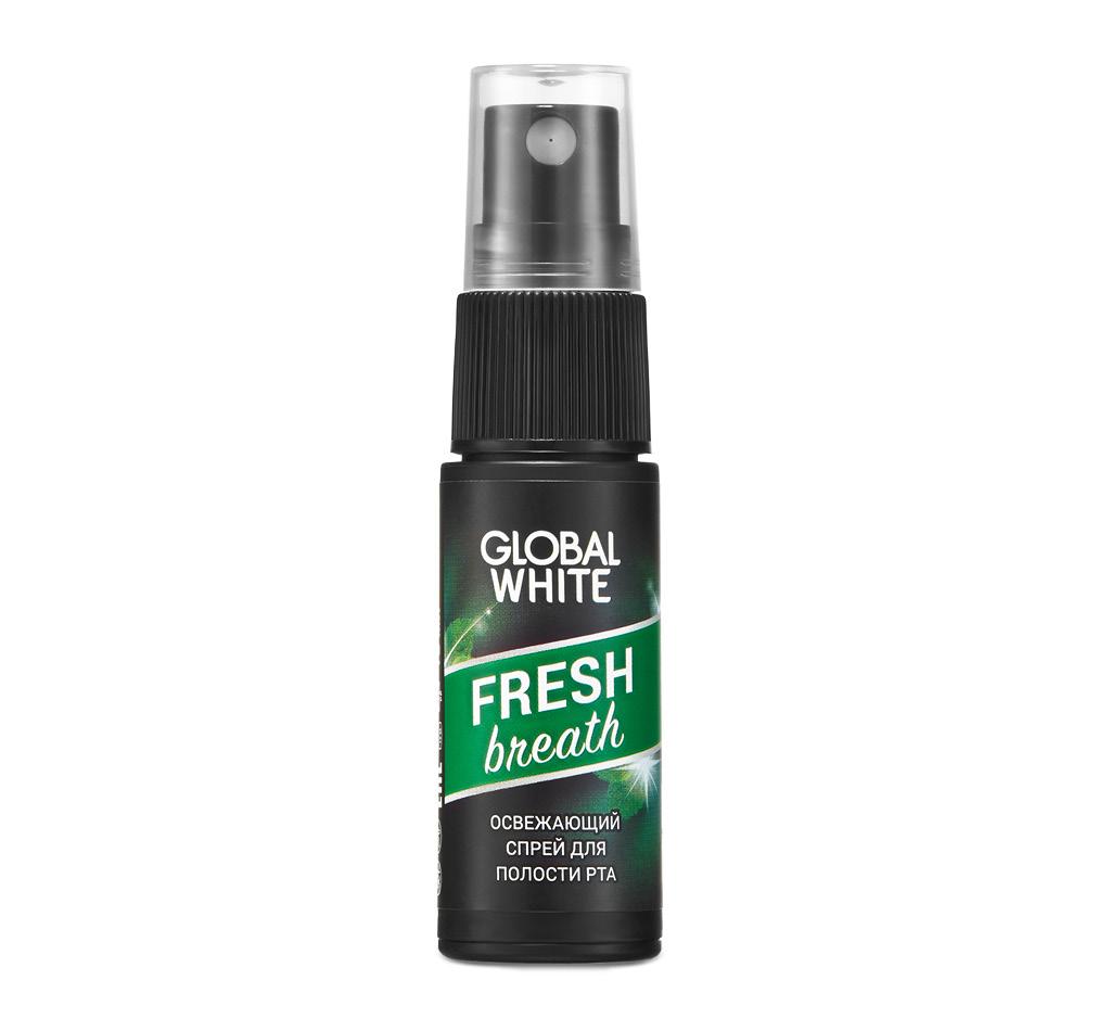 Спрей для полости рта Fresh, Global White