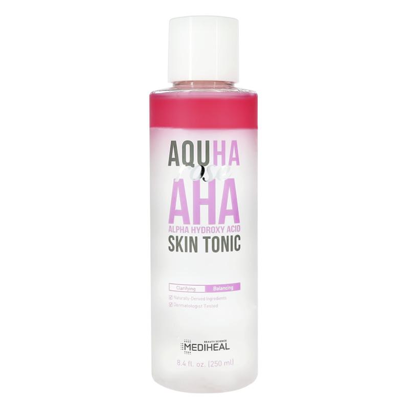 Тонер для лица Aquha с экстрактом розы и aha-кислотами, Mediheal