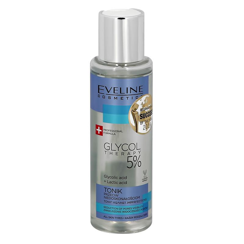 Тоник для лица Eveline Glycol Therapy 5% глубоко очищающий