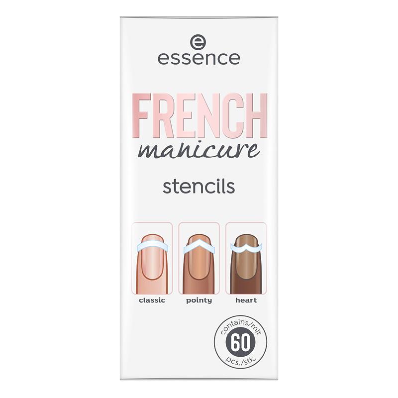 Трафареты для маникюра Essence French Manicure тон 01