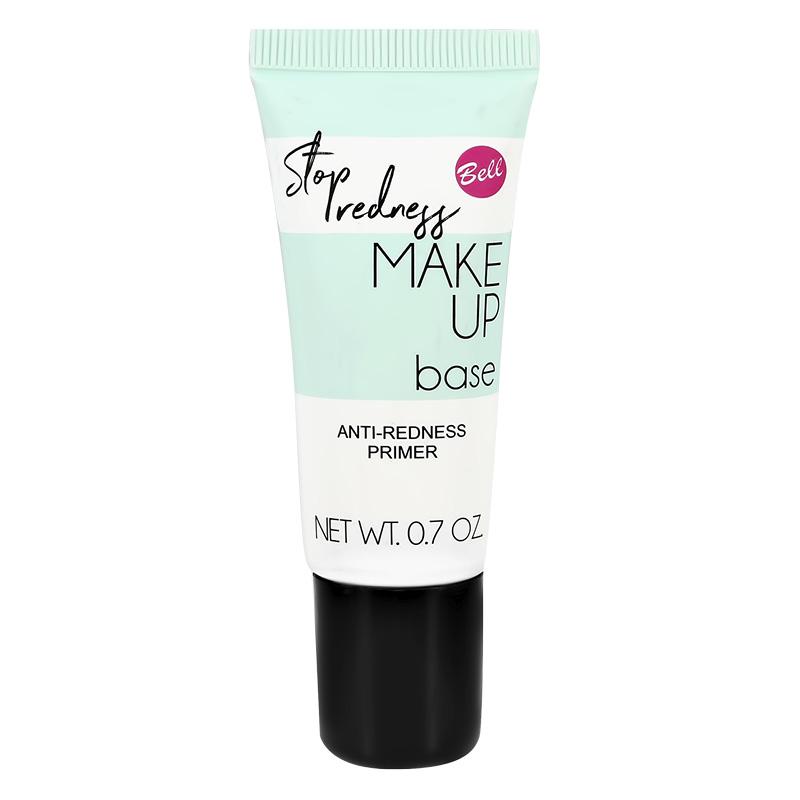База под макияж Bell Stop Pore & Shine Make Up Base тон 01 нейтрализующая покраснения