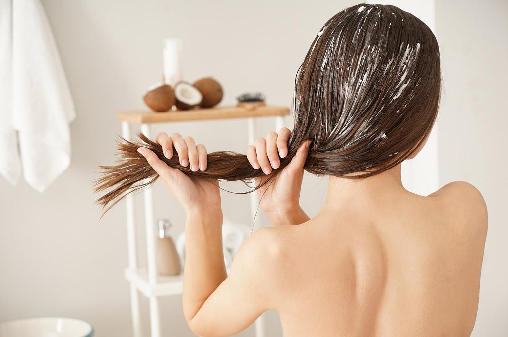 Как правильно нанести маску для волос после загара