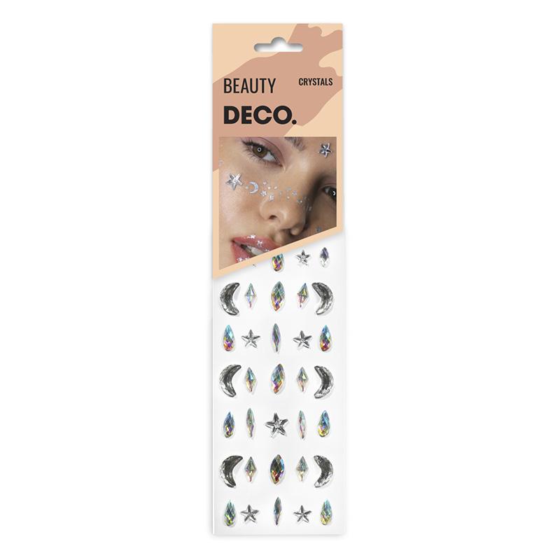 Кристаллы для лица и тела DECO. Crystals By Miami Tattoos (Sky)