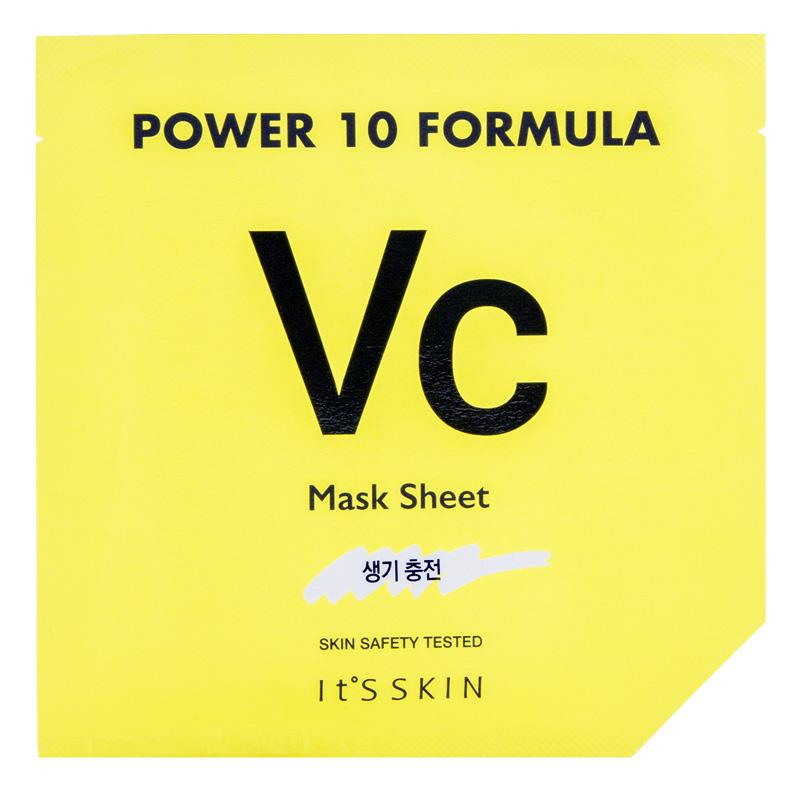 Маска для лица It`S Skin Power 10 Formula VC с витамином С (для сияния кожи)