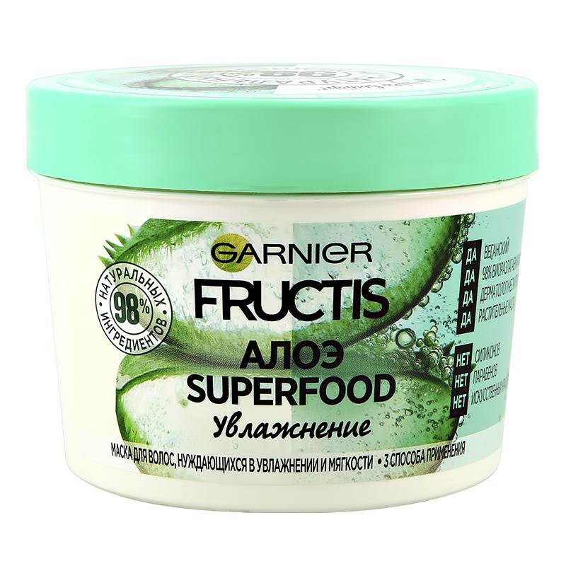 Маска для волос Garnier Fructis Superfood Алоэ