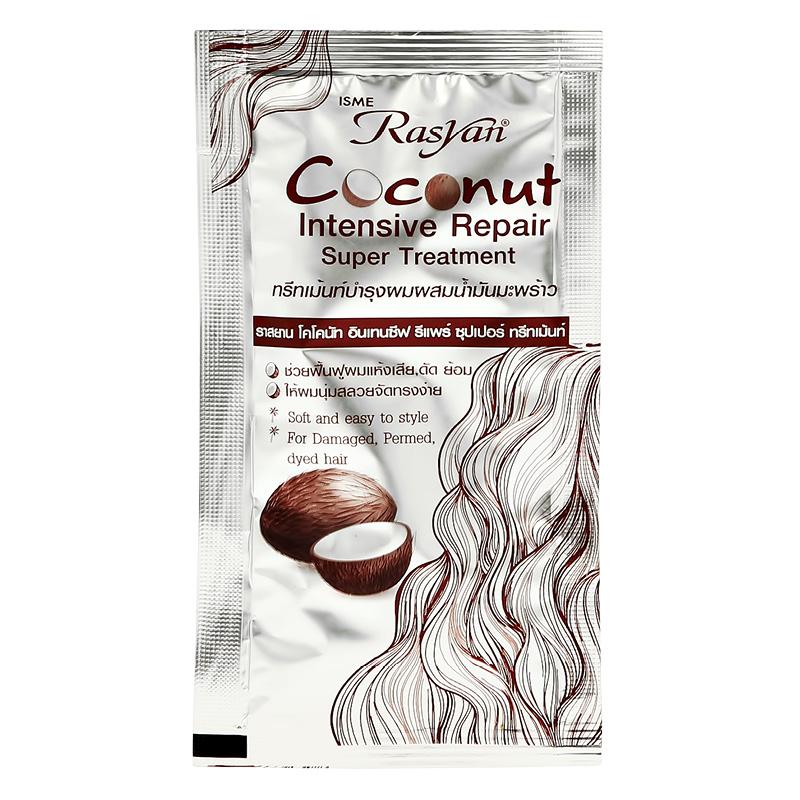 Маска для волос Rasyan восстанавливающая с кокосом