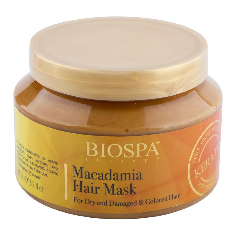 Маска для волос Sea Of Spa Biospa с кератином и маслом макадамии