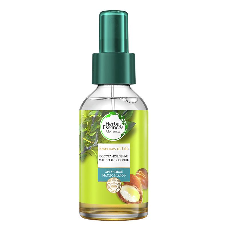Масло для волос Herbal Essences с арганой и алоэ