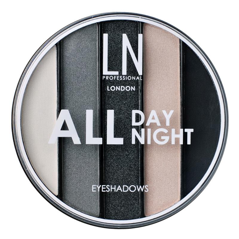Набор теней для век LN Professional All Day All Night тон 02