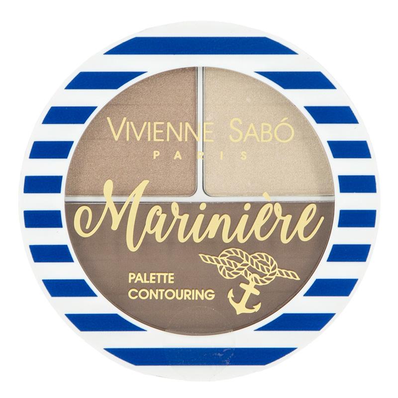 Палетка для скульптурирования Vivienne Sabo Mariniere тон 02 холодный