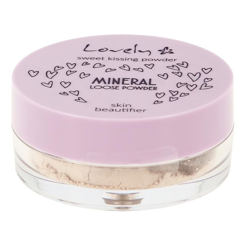Пудра для лица Lovely Mineral Loose минеральная