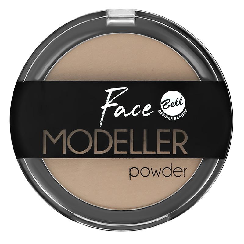 Пудра компактная для лица Bell Face Modeller Powder тон 01 скульптурирующая