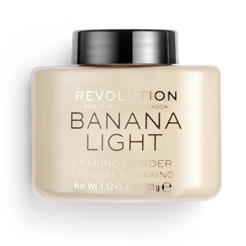 Пудра рассыпчатая для лица Revolution Baking Powder тон Banana Light
