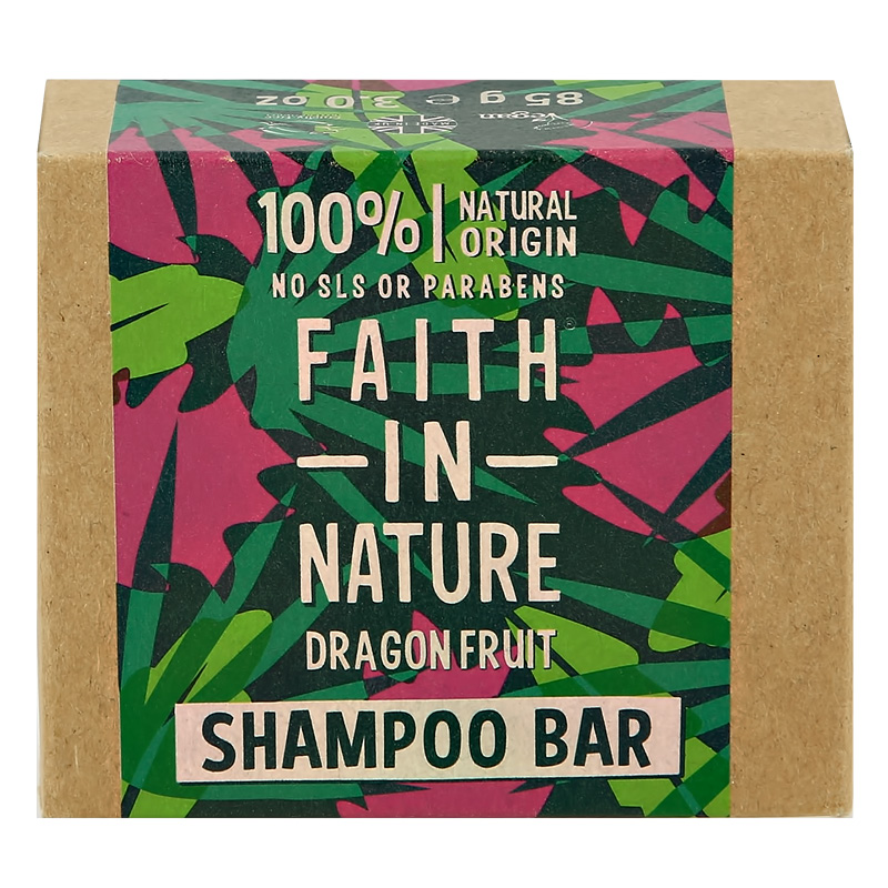 Шампунь для волос Faith In Nature с экстрактом питахайи (твердый)