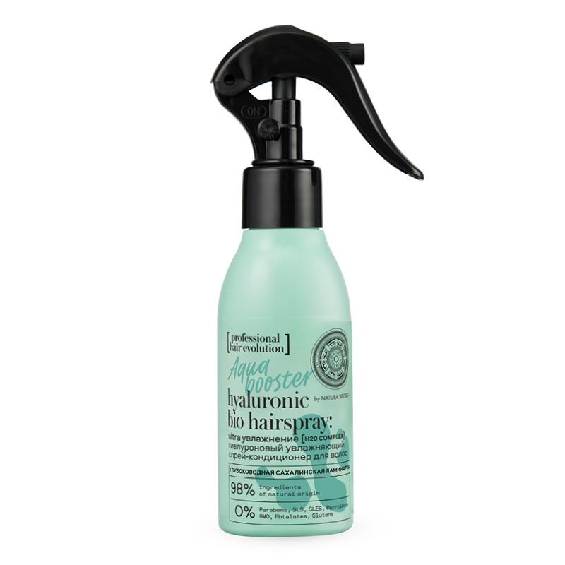 Спрей-кондиционер Natura Siberica Hair Evolution Aqua Booster Ultra увлажнение