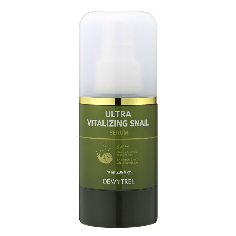 Сыворотка для лица Dewytree Ultra Vitalizing с экстрактом секрета улитки
