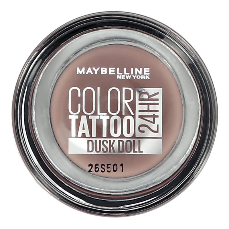 Тени для век Maybelline Color Tattoo 24H тон изысканный нюд