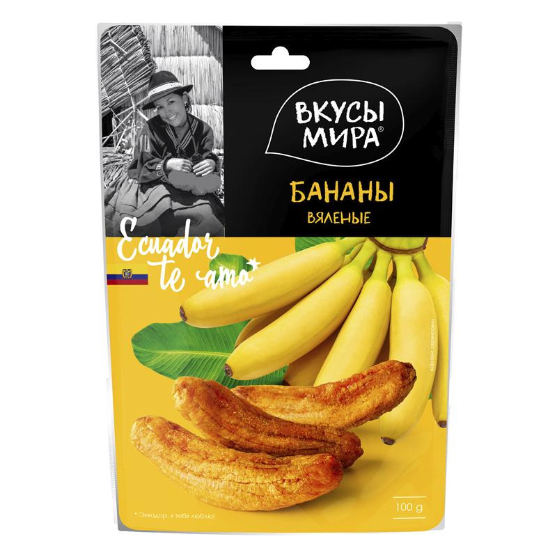 Бананы вяленые Вкусы мира