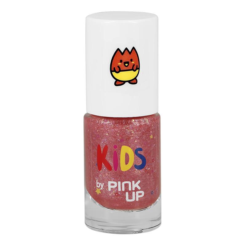 Детский лак для ногтей Pink Up Kid`S на водной основе тон 06