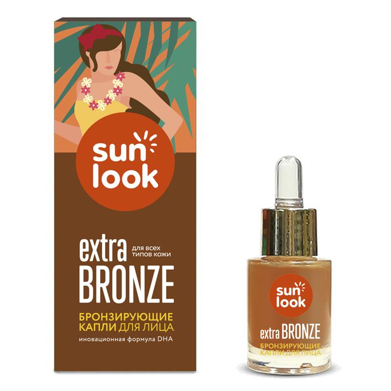 Капли для лица Sun Look I Love Bronze бронзирующие