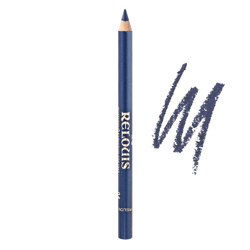 Карандаш для глаз Relouis с витамином Е тон 04 синий