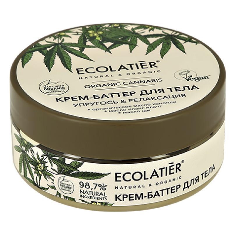 Крем-баттер для тела Ecolatier Organic Cannabis Упругость & релаксация