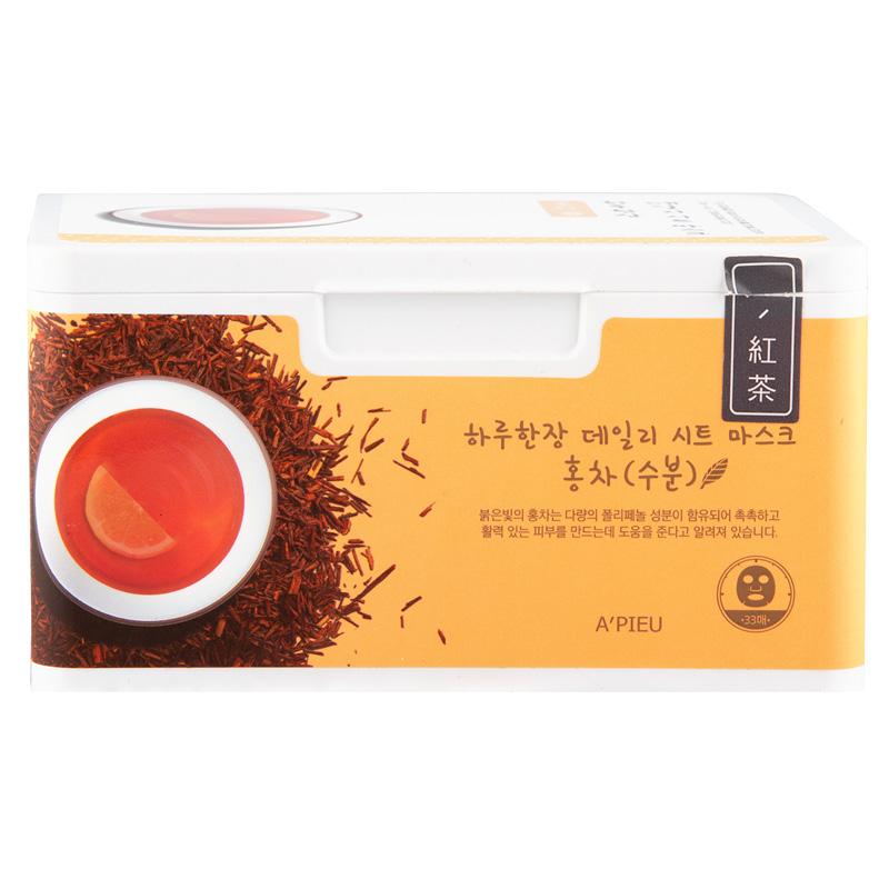Маска для лица A`Pieu с экстрактом черного чая