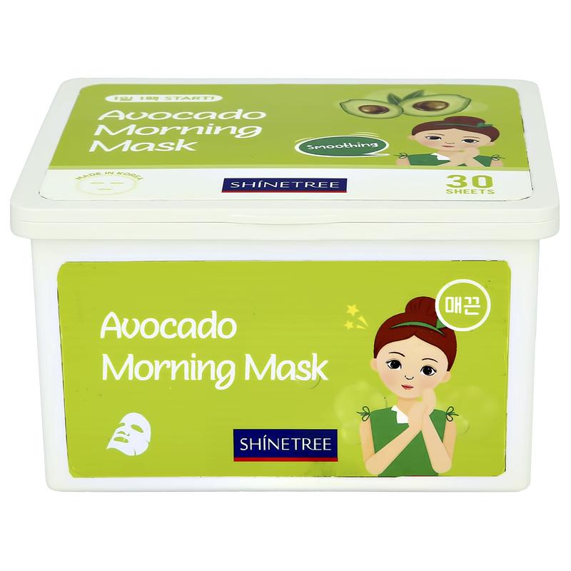 Маска для лица Shinetree утренняя с экстрактом авокадо (разглаживаю-щая)