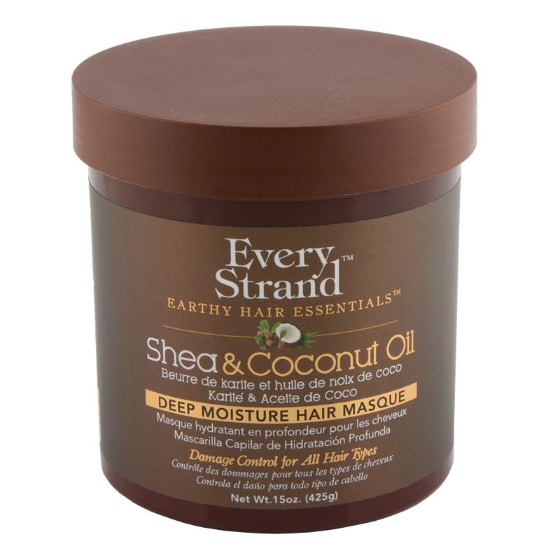 Маска для волос Every Strand с кокосовым маслом и маслом ши (в банке)
