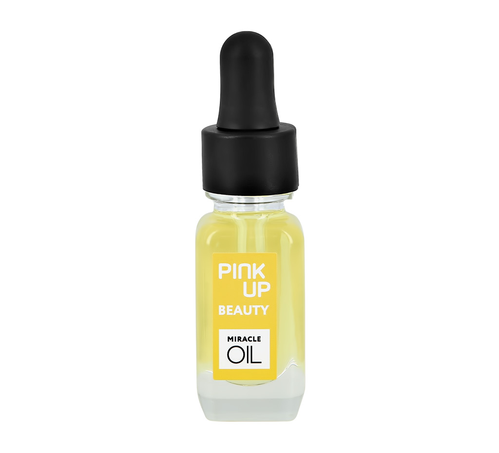 Масло для ногтей и кутикулы Pink Up Beauty Miracle Oil