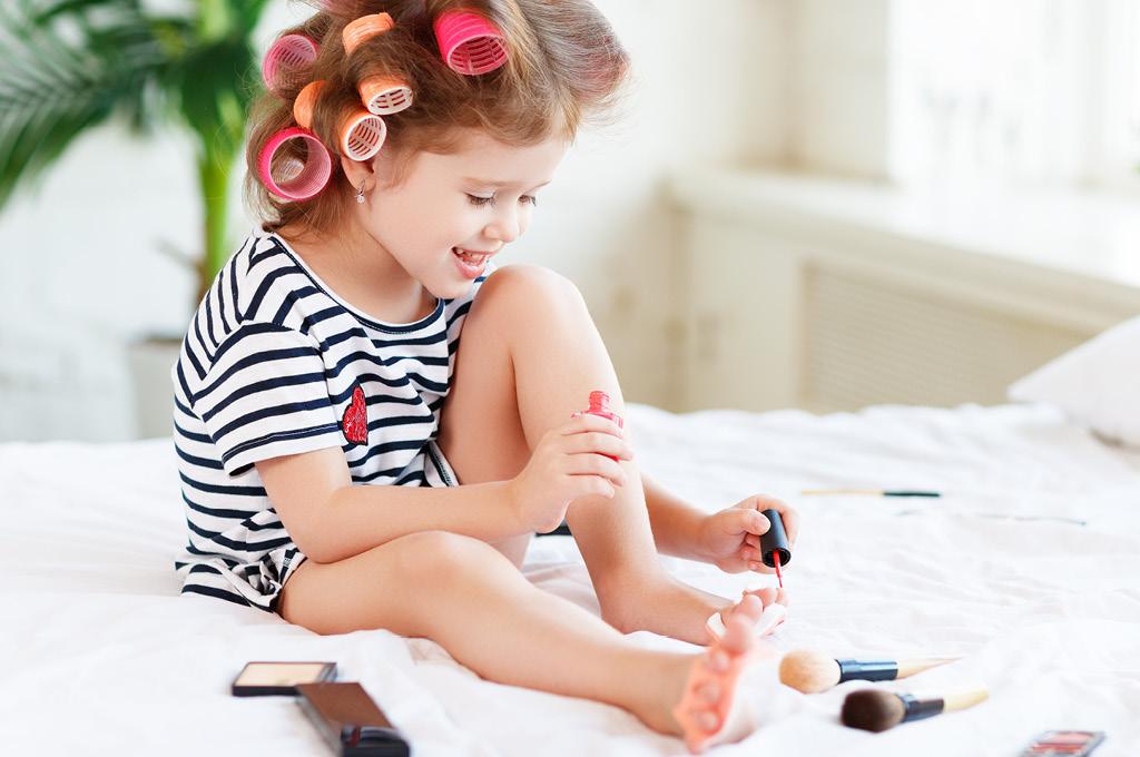 Особенности детских ногтей