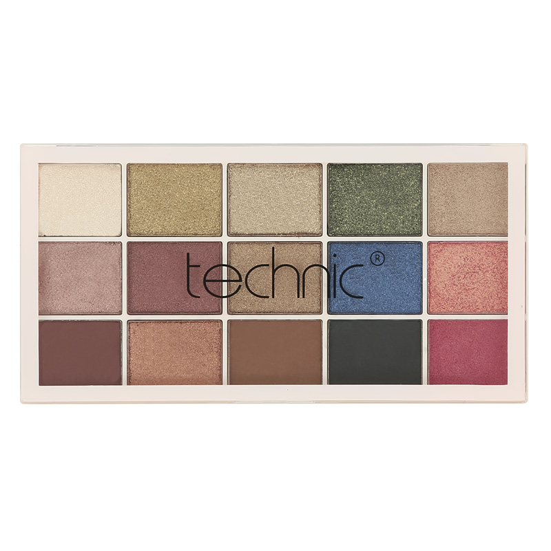 Палетка теней для век Technic Pressed Pigments тон Goddess