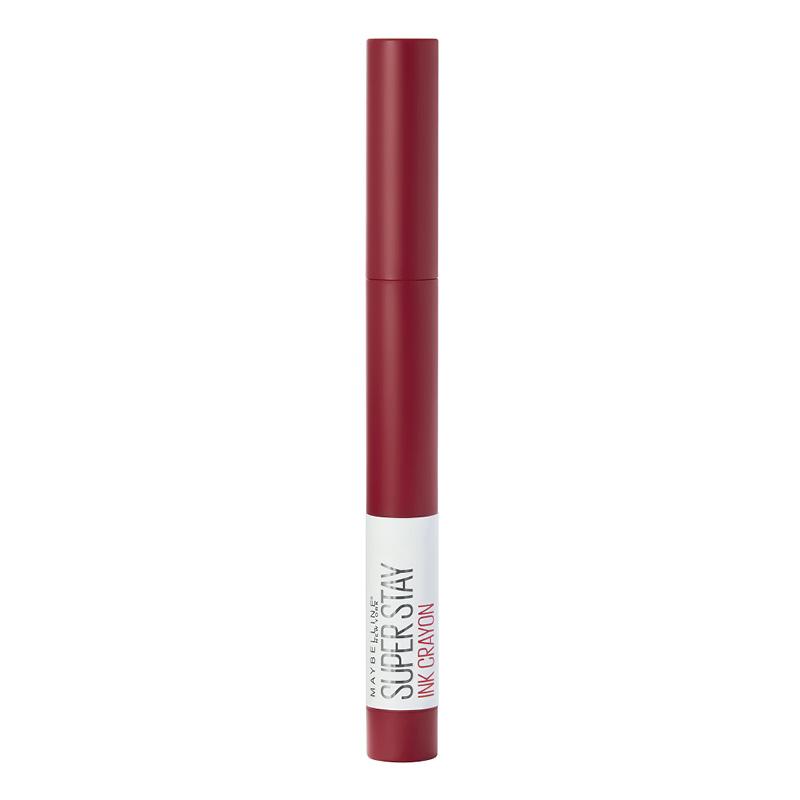 Помада для губ Maybelline Super Stay Ink Crayon в стике тон 50 стойкая матовая