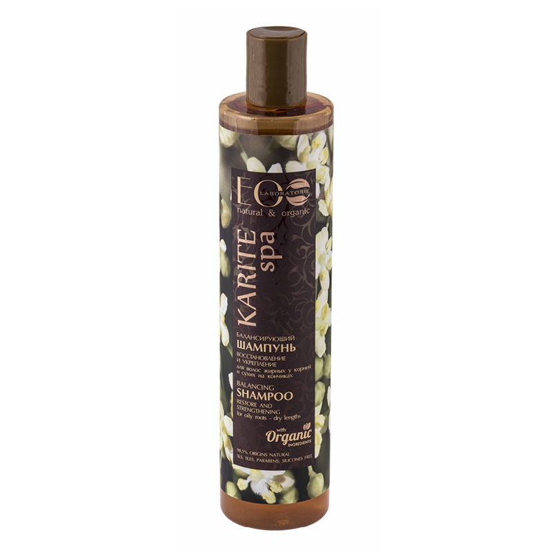 Шампунь для волос EO Laboratorie Karite Spa Восстановление и укрепление (балансирующий)