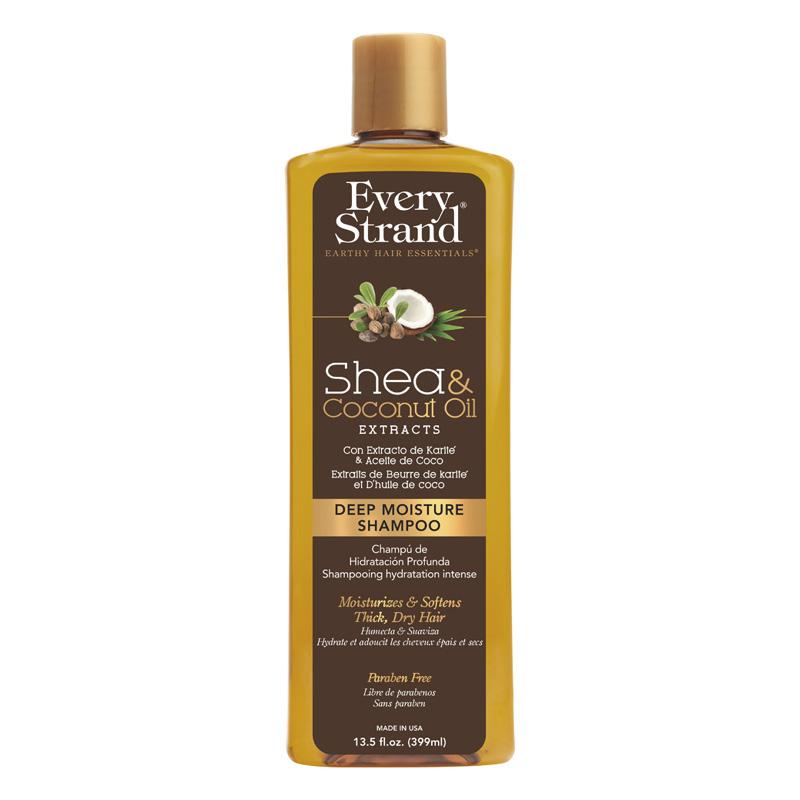 Шампунь для волос Every Strand с кокосовым маслом и маслом ши