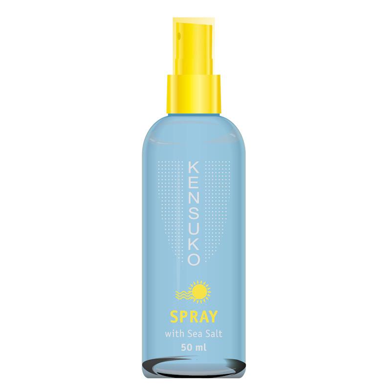Спрей для укладки волос Kensuko текстурирующий с морской солью