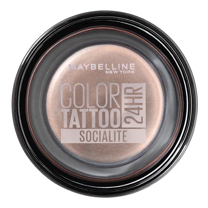 Тени для век Maybelline Color Tattoo 24H тон нежный персик