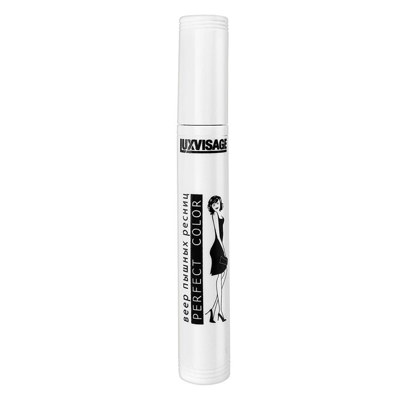 Тушь для ресниц Luxvisage Perfect Color веер пышных ресниц (черная)
