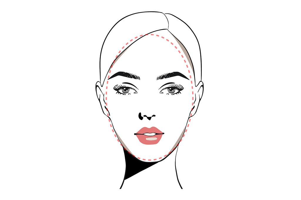 Челки под тип лица: Овальное лицо