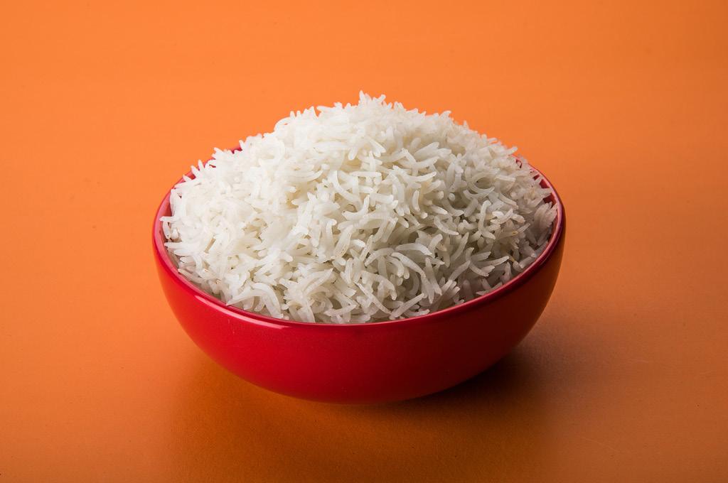 Что нельзя есть на ночь: Белый рис