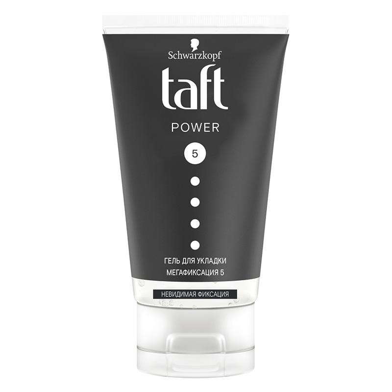 Гель для укладки волос Taft Power (мегафиксация)