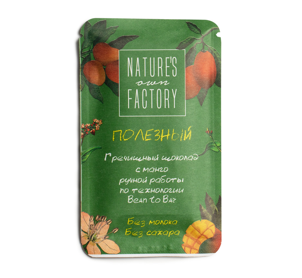 Гречишный шоколад Nature`S Own Factory с манго